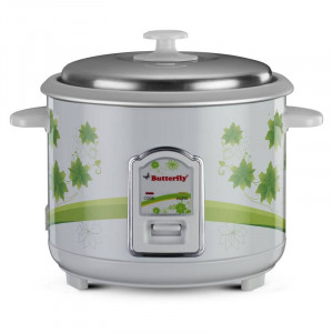 Butterfly 1.8 L JADE Electric Rice Cooker(White)