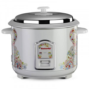 Butterfly 1.8 L RAGA Electric Rice Cooker(White)