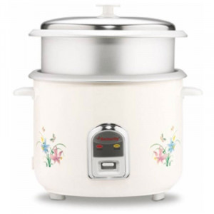 Butterfly 2.8 L KRC-22 Electric Rice Cooker(White)