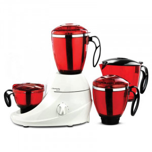 Butterfly Desire 1 Hp Mixer Grinder(Red & White, 4 Jars)