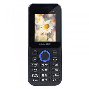 Celkon C107 (Black, 32MB)