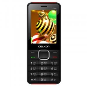 Celkon C240(Black & Red)