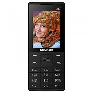 Celkon C26 Dual Sim (Black)