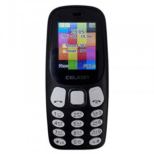 Celkon C310 (White & Dark Blue)