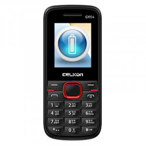 Celkon C604 (Black & Red, 256MB)