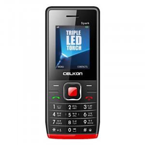 Celkon Spark  (Black & Red)