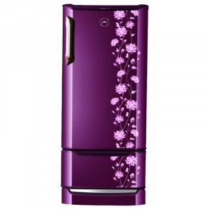 Godrej 225 L 4 Star RD EDGE DUO 225 PD INV4.2 Inverter Compressor Direct-Cool Double Door Refrigerator (Erica wine)