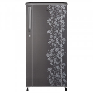 Haier 190 L 3 Star HRD-1903CGD-R Single Door Refrigerator (Floral Grey)