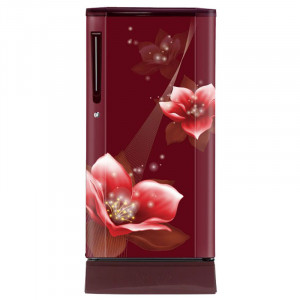 Haier 190L  HRD-1903PRM-E 3 Star Single Door Refrigerator (Cherry Red)