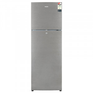 Haier 270 L 3 Star HRF-2904BS-R Frost Free Double Door Refrigerator (Brushline Silver)
