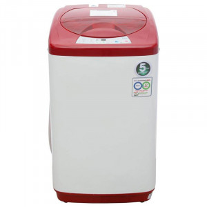 Haier 5.8 kg HWM58-020-R Fully Automatic Top Load Washing Machine (Red)