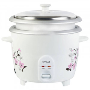 Havells 1.8 L ECook Rice Electric Rice Cooker(White)