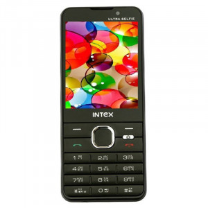 Intex Ultra Selfie  (Black)