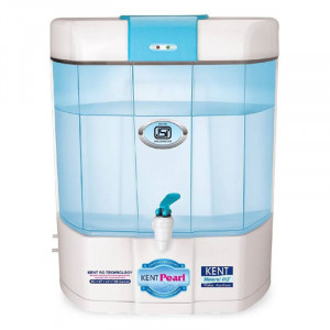 Kent pearl 8 L RO + UV +UF Water Purifier  (Blue and white)