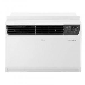 LG 1.5 Ton 5 Star  JW-Q18WUZA DUAL Inverter Window Air Conditioner(White)
