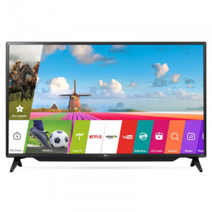 LG 108cm (43 Inches) 43LJ619V FULL HD LED SMART TV (Black)