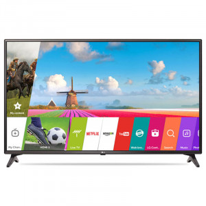 LG 123cm (49 Inches) 49LJ617T  FULL  HD LED SMART TV (Black)