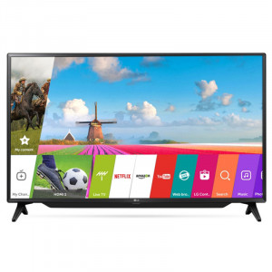 LG 123cm (49 Inches) 49LJ617V FULL HD LED TV (Black)
