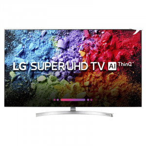 LG 139.7 cm (55 inches) 55SK8500PTA 4K LED Smart Television (Silver)