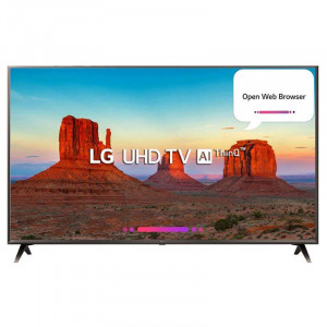 LG 139.7 cm (55 inches) 55UK6500PTC 4K LED Smart Television (Black)
