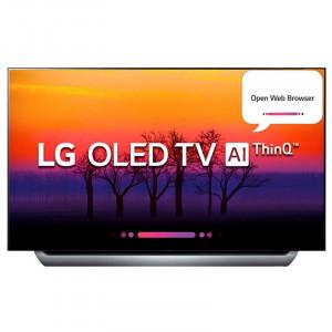 LG 139.7 cm (55 inches) OLED55C8PTA 4K OLED Smart Television (Black)
