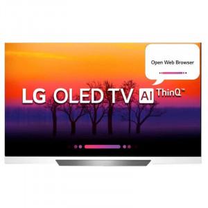 LG 165.1 cm (65 inches) OLED65E8PTA 4K OLED Smart Television (Black)