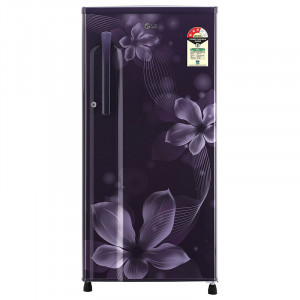 LG 188 L GL-B191KPOW 3 Star  Direct-Cool Single-Door Refrigerator (Purple Orchid)