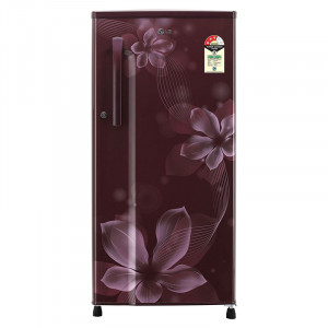 LG 188 L  GL-B191KSOW 3 Star Direct-Cool Single-Door Refrigerator (Scarlet Orchid)