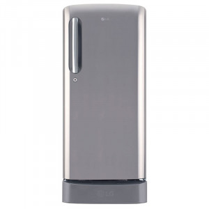 LG 190 L 4 Star GL-D201APZX Inverter Direct-Cool Single-Door Refrigerator (Silver)