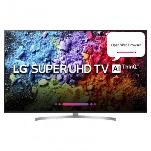 LG 190cm (75 inches) 75SK8000PTA Ultra HD LED Smart Television (Silver)