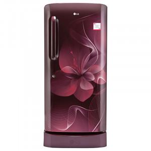 LG 215 L 4 Star GL-D221ASDX Direct Cool Single Door Refrigerator (Scarlet Dazzle)