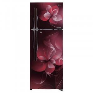 LG 260 L GL-C292RSDU 3 Star Frost Free Double Door  Refrigerator(Scarlet Dazzle)