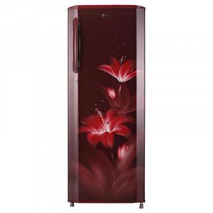 LG 270 L 4 Star GL-B281BRGX Inverter Direct Cool Single Door Refrigerator (Ruby Glow)
