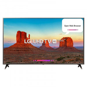 LG  (43 inches) 43UK6560PTC Ultra HD 4K Smart LED Television (Black)
