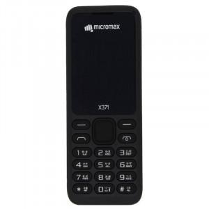 Micromax X371(512 MB, Black)