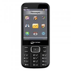 Micromax X372 Dual SIM Basic Phone (Black & Grey, 32 GB)