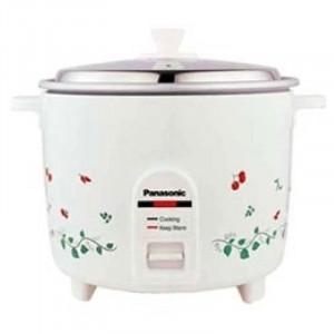 Panasonic 1.8 L SR WA 18H Electric Rice Cooker(White)