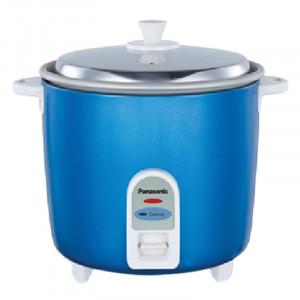 Panasonic 1.8 Ltr Sr SR-WA18H(BBW) Rice Cooker (Light Blue)