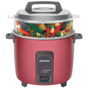Panasonic 2.2 L SR-Y22FHS Electric Rice Cooker(Burgundy)