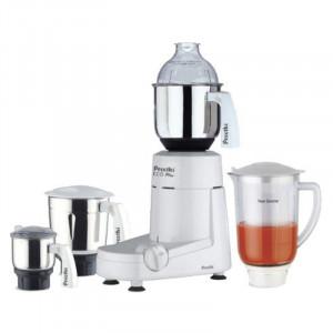 Preethi Eco Plus 750-Watt Mixer Grinder (White,  4 Jars)