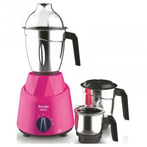 Preethi Galaxy MG 225 750 W Mixer Grinder(Pink, 3 Jars)