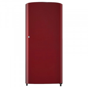 Samsung 192 L 1 Star RR19H10C3RH/RR19J20C3RH Direct Cool Refrigerator (Scarlet Red)