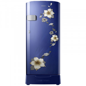 Samsung 192 L 3 Star RR19N1Z22U2/HL Single Door Refrigerator (Blue)