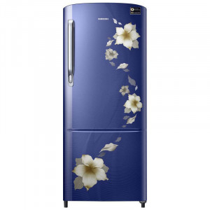 Samsung 192 L 3 Star RR20M272ZU2-NL/ RR20M172ZU2-HL Direct Cool Single Door Refrigerator (Star Flower Blue)