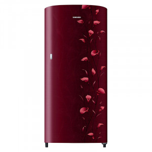 Samsung 192 L RR19N1112RZ/HL, RR19N2112RZ/NL 2 Star Direct Cool Single Door Refrigerator (Lily Red)