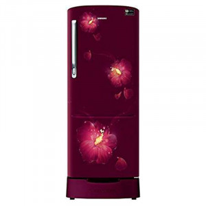 Samsung 192 L RR20N182ZR3/HL  3 Star  Inverter Direct Cool Single Door Refrigerator (Red)
