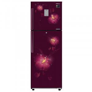 Samsung 253 L RT28M3954R3/NL/RT28M3954R3/HL Frost Free Double Door Refrigerator (Rose Mallow Plum)