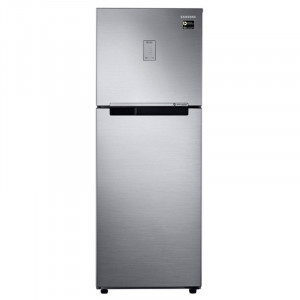 Samsung 253 L RT28N3424SLHL 4 Star  Inverter Frost-Free Double-Door Refrigerator ( Real Stainless)