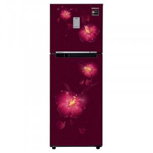 Samsung 253 L RT28N3722R3/NL 2 Star Inverter Frost-Free Double-Door Refrigerator (Rose Mallow Plum)