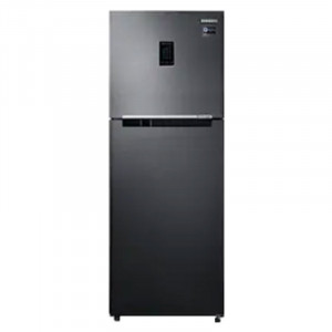 Samsung 324 L 3 Star RT34M5538BS/HL Double Door Refrigerator (Black lnox)